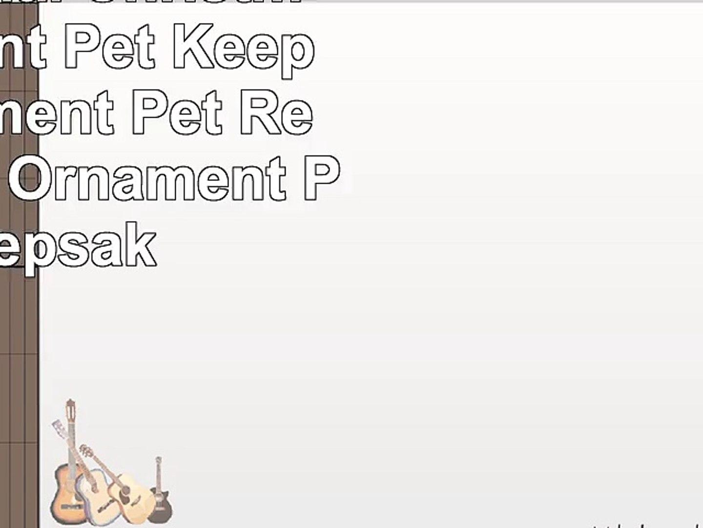 Pet Memorial Christmas Ornament  Pet Keepsake Ornament  Pet Remembrance Ornament  Pet