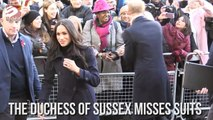 Meghan Markle Misses Suits