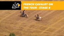 La cavalerie française sur le Tour / French cavalry on the Tour - Étape 8 / Stage 8 - Tour de France 2018