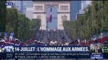 14-Juillet: revivez les moments marquants du défilé sur les Champs-Elysées