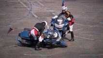 French Police Motorcycles Crash During Bastille Day Parade