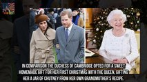 Meghan Markles hilarious Christmas present for the Queen revealed  The first Christmas spent with
