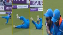 India Vs England 2nd ODI: Rohit Sharma takes brilliant running catch to dismiss Moeen Ali | वनइंडिया