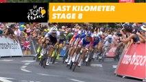 Last kilometer / Flamme rouge - Étape 8 / Stage 8 - Tour de France 2018