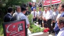15 Temmuz şehidi Yaman, kabri başında anıldı - BARTIN