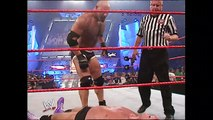 Goldberg, Shawn Michaels & Maven vs. Evolution - Raw, Sept. 1, 2003 - WWE Wrestling Fight Fighting Match Sports