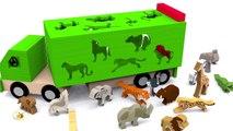 Apprendre les animaux sauvages en français Vidéos éducatives dessins animés pour bébé Learn French