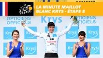 La minute Maillot Blanc Krys - Étape 8 - Tour de France 2018