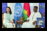 RTB/Entretien entre le ministre des affaires étrangères et la directrice exécutive du comite de lutte contre le terrorisme des Nations-Unies, Michelle Conninsx