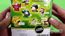Kung Fu Panda KINDER Surprise Eggs Po, Tigress, Shifu, Monkey, Mantis, Viper, Crane, Mr. Ping – 3S