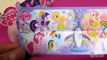 My Little Pony KINDER Surprise Eggs Pinkie Pie, Rainbow Dash, Twilight Sparkle, Fluttershy Ponies or Equestria Girls – 3
