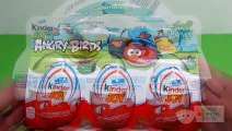 ANGRY BIRDS Special unboxing Kinder JOY Eggs ANGRY BIRDS Limited Edition, Mashem, Surprise Eggs – 3S