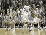 Vince carter dunks on Tim Duncan in college