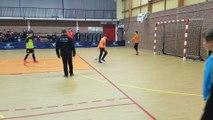 Tournoi en salle U13 ans d'Erre/Hornaing : Finale Waziers 1 - Waziers 2 - Séance de tirs au but