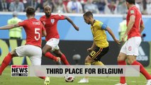 World Cup: Belgium beat England 2-0 for third place