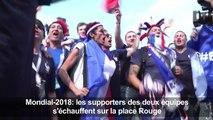 Mondial-2018: les supporteurs s'échauffent sur la place Rouge