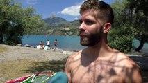 D!CI TV / Hautes-Alpes : le lac de Serre-Ponçon toujours aussi prisé des passionnés de planche à voile
