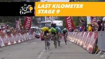 Last kilometer / Flamme rouge - Étape 9 / Stage 9 - Tour de France 2018