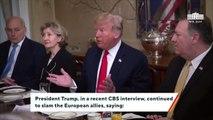 Trump Says European Union Is A 'Foe' Of The US