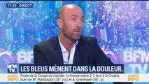"""Finale de la Coupe du monde: """"On n'est pas rentré dans notre finale"""" Le jugement sévère de Christophe Dugarry sur la première mi-temps des Bleus"""