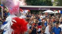 Mondial 2018: ambiance à Bourg-en-Bresse