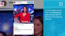 Charlotte Namura  de TF1 superbe sur Instagram