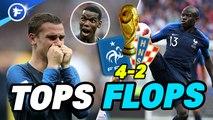 Les tops et les flops de France-Croatie