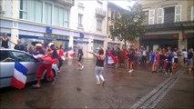 Joie dans les rues de Bourg en Bresse
