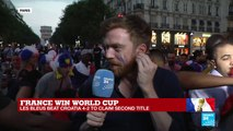 "World Cup 2018: ""On est les champions,"" is the anthem of the celebration at the Champs-Elysees"