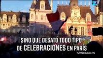 Las celebraciones de Francia terminaron en disturbios