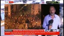 Champion du monde: Des incidents à Paris, Marseille, Ajaccio, Rouen, Strasbourg - Au moins 2 morts dans des accidents