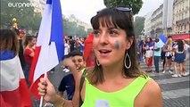 La France célèbre la victoire