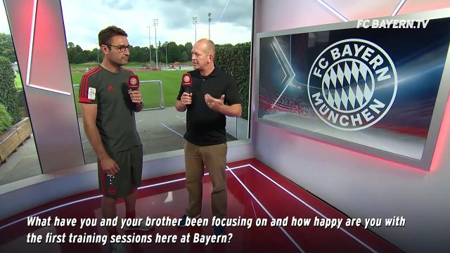 New assistant coach Robert Kovac tells us about his first 10 days at FC Bayern and working alongside his brother