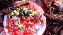 Kenyan Street Food - HUGE GRILLED MEAT (Nyama Choma) Tour in Nairobi, Kenya | African Food!