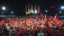 Adana'da, 15 Temmuz Şehitleri ve Demokrasi İçin Nöbet