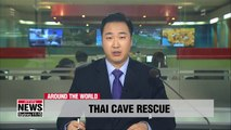 12 Thai boys rescued from flooded pay tribute to lost rescue diver