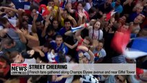France wins second World Cup Champion title after 20 years in 1998