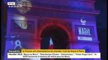 Champions du monde: Retour sur la nuit de liesse à Paris après la victoire des Bleus à la Coupe du monde - VIDEO