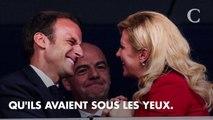 PHOTOS. Coupe du monde 2018 : Emmanuel Macron et Kolinda Grabar-Kitarović ont partagé un moment très complice dans les tribunes