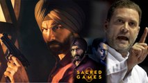 Sacred Games: Here's how Saif Ali Khan REACTS after Rahul Gandhi's Tweet over Controversy |FilmiBeat
