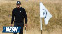 Tiger Woods Has A Late Tee Time For The First Round of The British Open