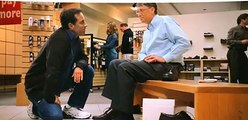 Microsoft Ad  - Bill Gates and Jerry Seinfeld at Shoe Circus