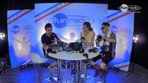James Hype en interview dans le studio de Fun Radio à l'EMF