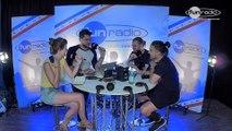 Dimitri Vangelis & Wyman en interview dans le studio de Fun Radio à l'EMF