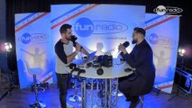 Tchami x Malaa en interview dans le studio de Fun Radio à l'EMF