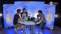 Maxime Ferrant, directeur de l'EMF en interview dans le studio de Fun Radio
