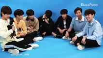 BTS with puppies while answering Fans Questions
