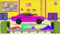 Car Garage|voiture Garage| Jeux de voiture pour les enfants| jouet voiture usine