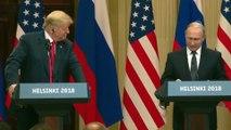 Trump-Putin ortak basın toplantısı - HELSİNKİ