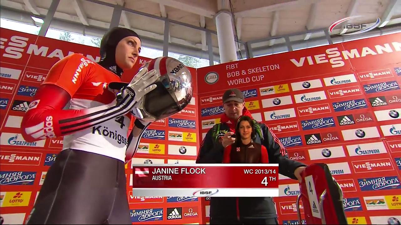 FIBT   Women's Skeleton World Cup 2013/2014 – Königssee Highlights
